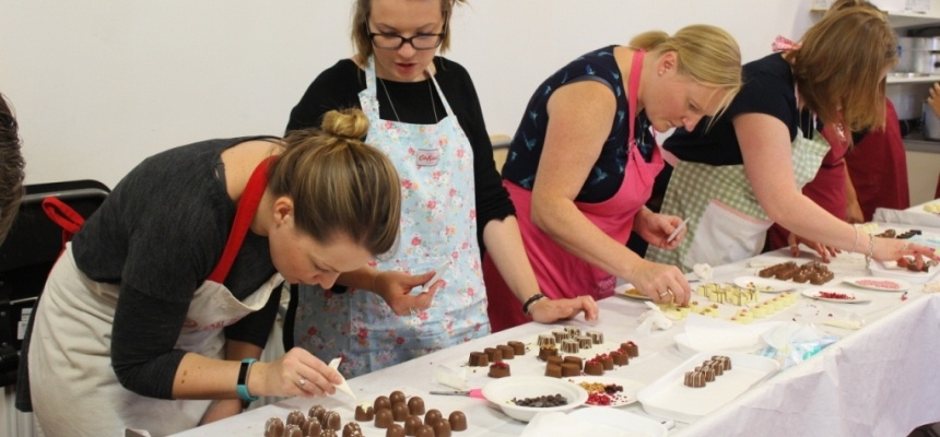 Hampshire Luxury Chocolate Making Workshop for Two-2
