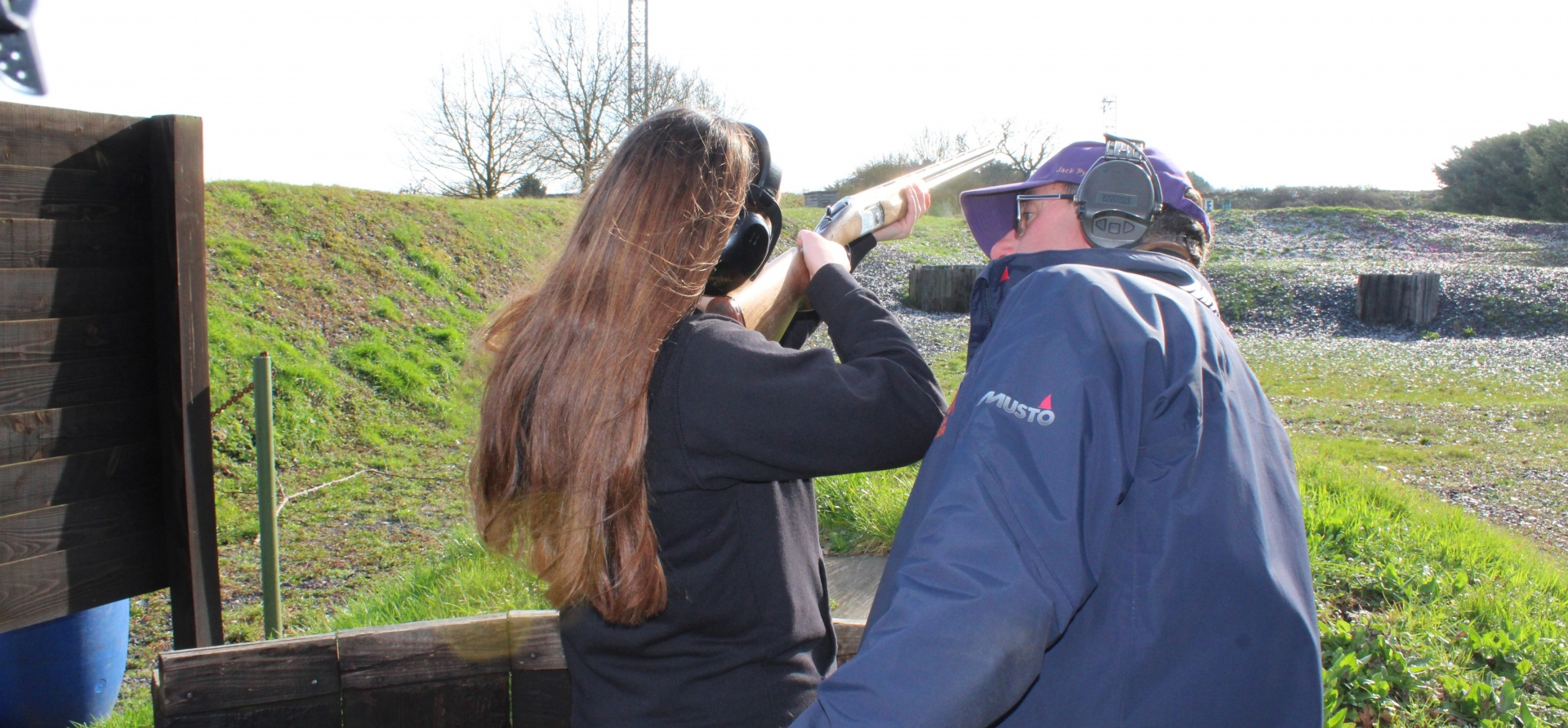 Introduction to Clay Shooting for Two People-4