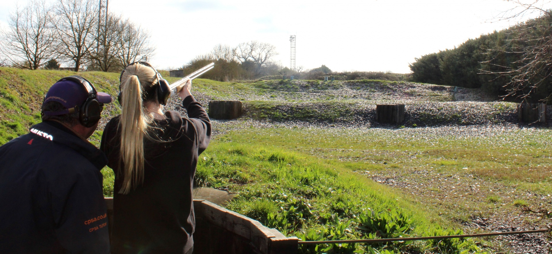 Introduction to Clay Shooting for Two People-2