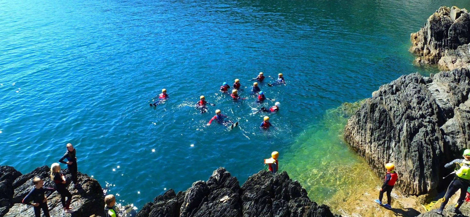 Half Day Coasteering In Cornwall-1