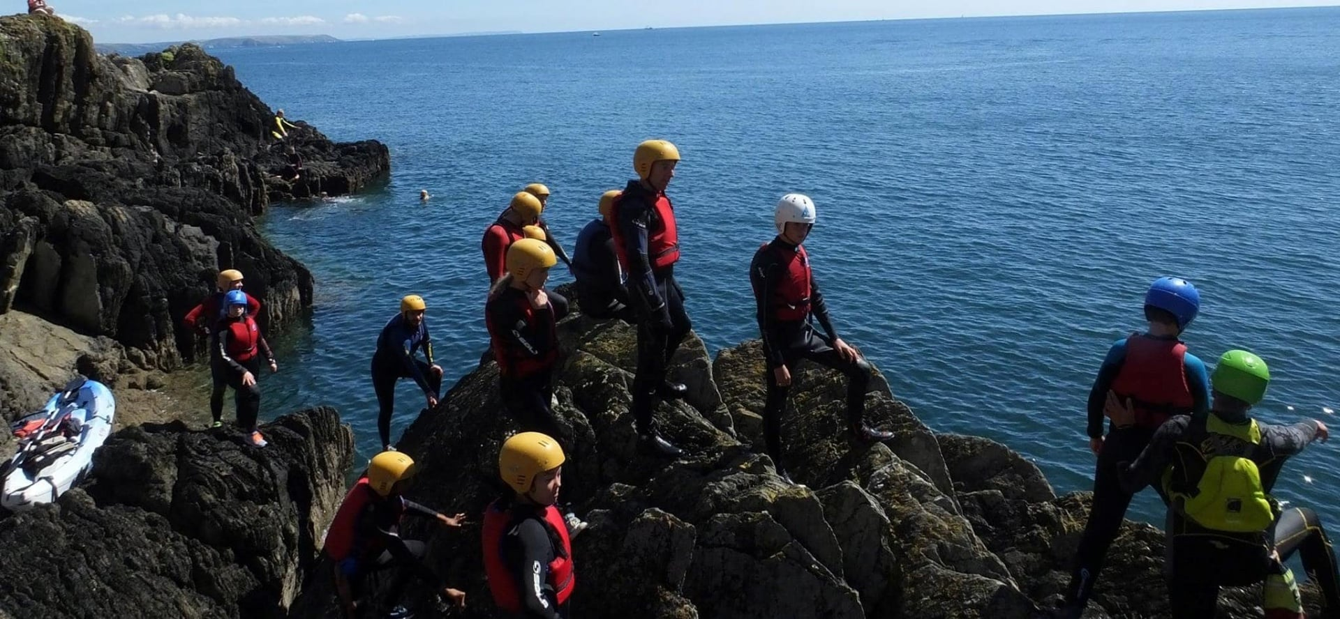 Half Day Coasteering In Cornwall-2