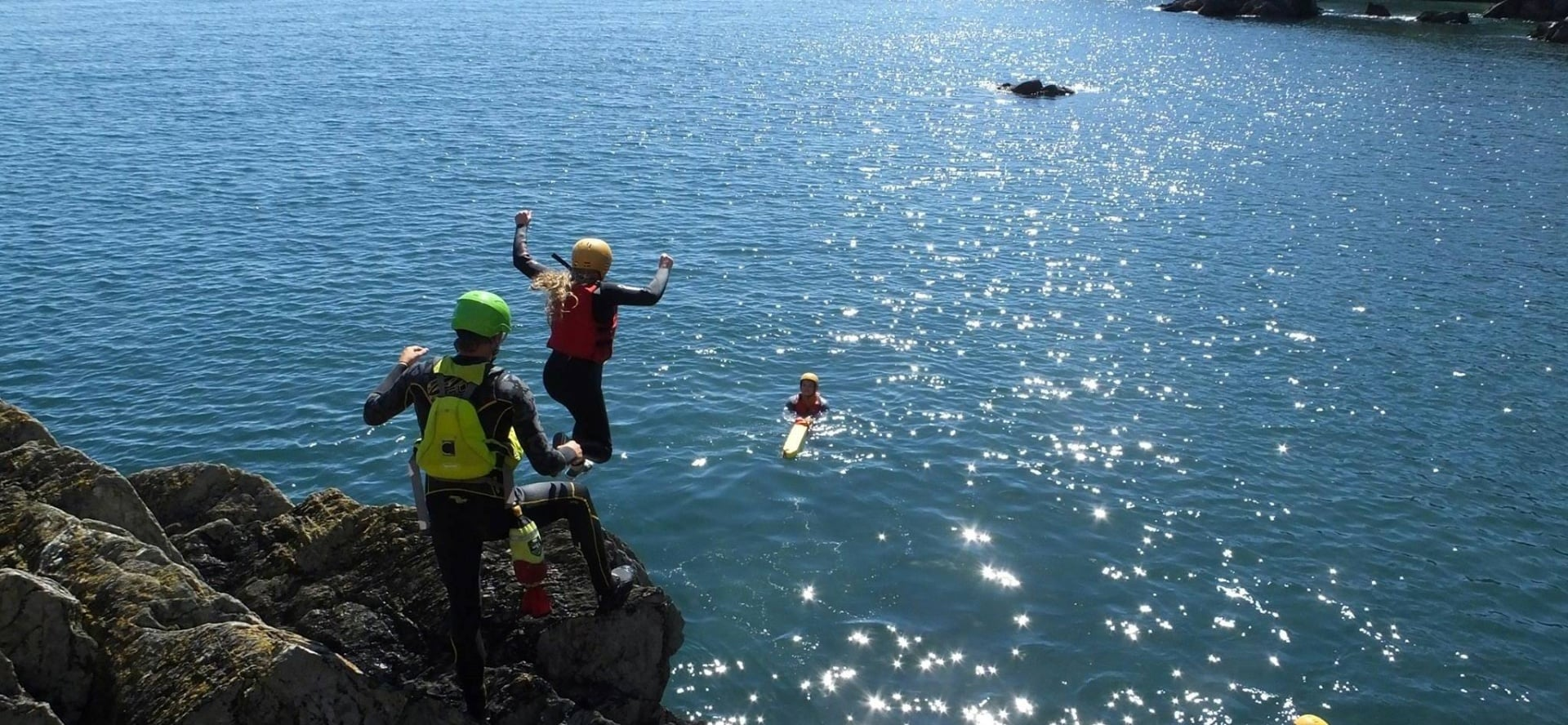 Half Day Coasteering In Cornwall-3