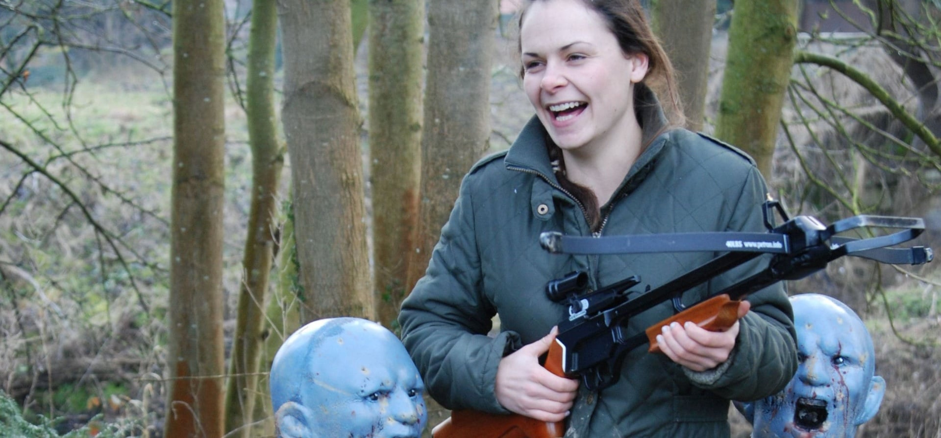 Triple Zombie Shooting Experience - Nottinghamshire-4