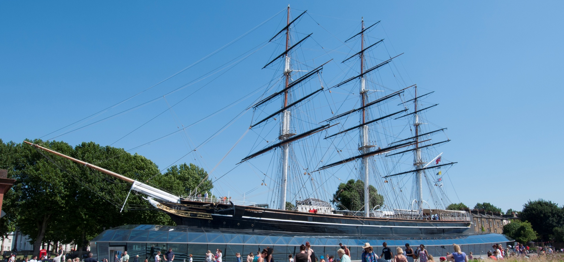 Thames Cruise + Cutty Sark Experience for Two-1