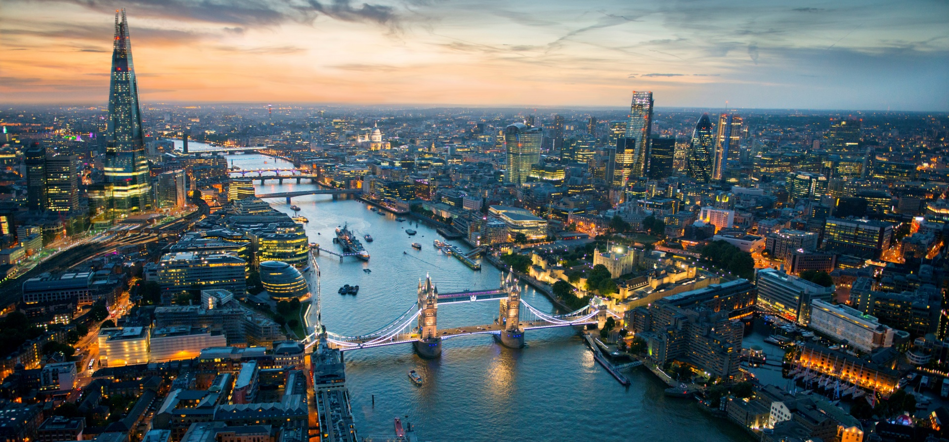 Thames Cruise and The View From The Shard Day & Night Experience for Two-4
