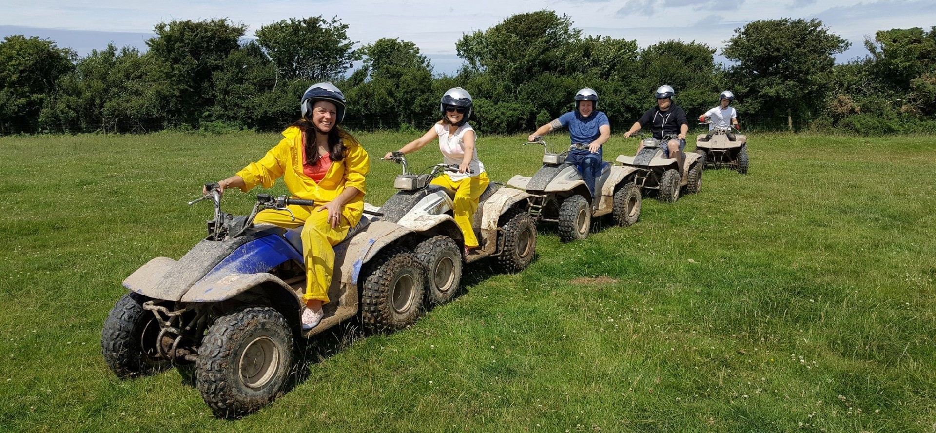 75 Minute Quad Biking Experience - Devon-3
