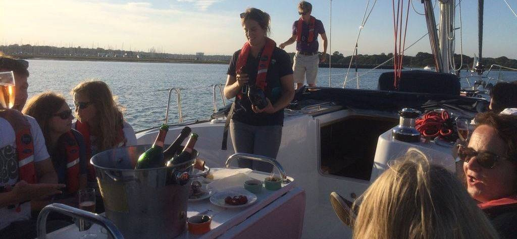 Solent Yacht Sailing Experience with Dinner-3