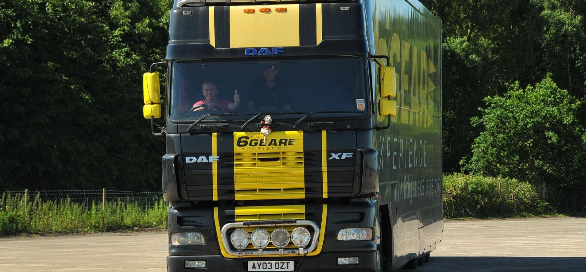 Articulated Lorry Driving Experience-5