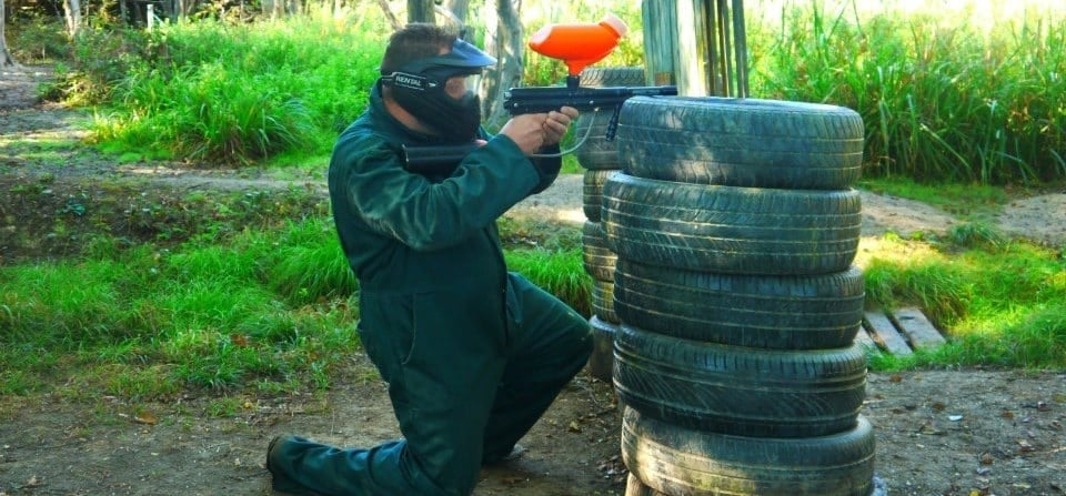 Paintballing + 100 Balls - East Sussex-1