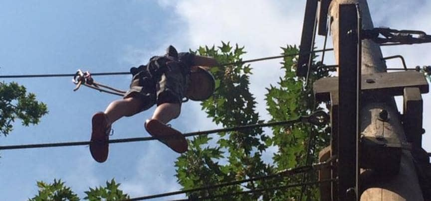 High Ropes for Two - Essex-2