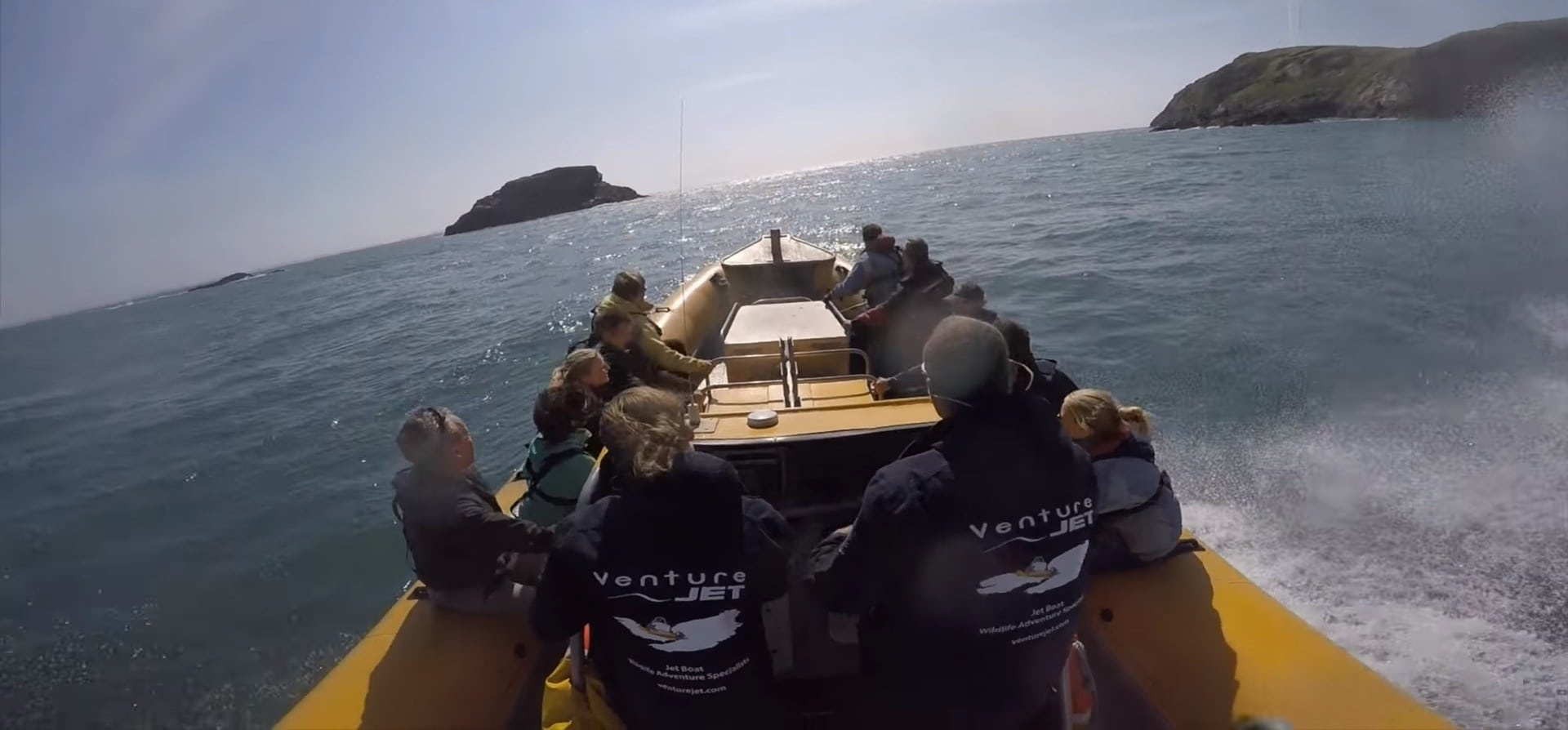 Jet Therapy RIB Ride Pembrokeshire - Kids-3