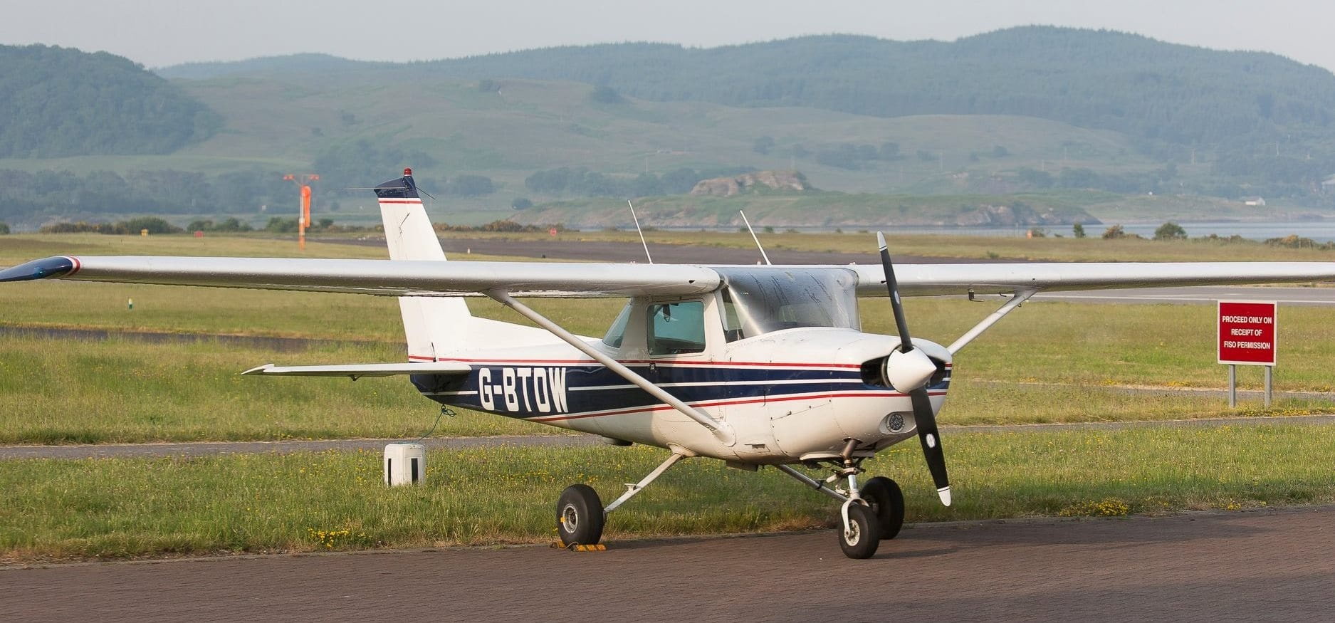 Scenic Flight Tour Over Hadrian's Wall for Two People-1