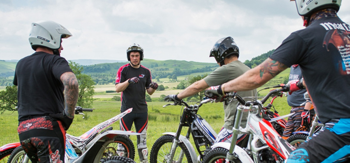 Beginners Full Day Trials Biking Experience in Lancashire-7