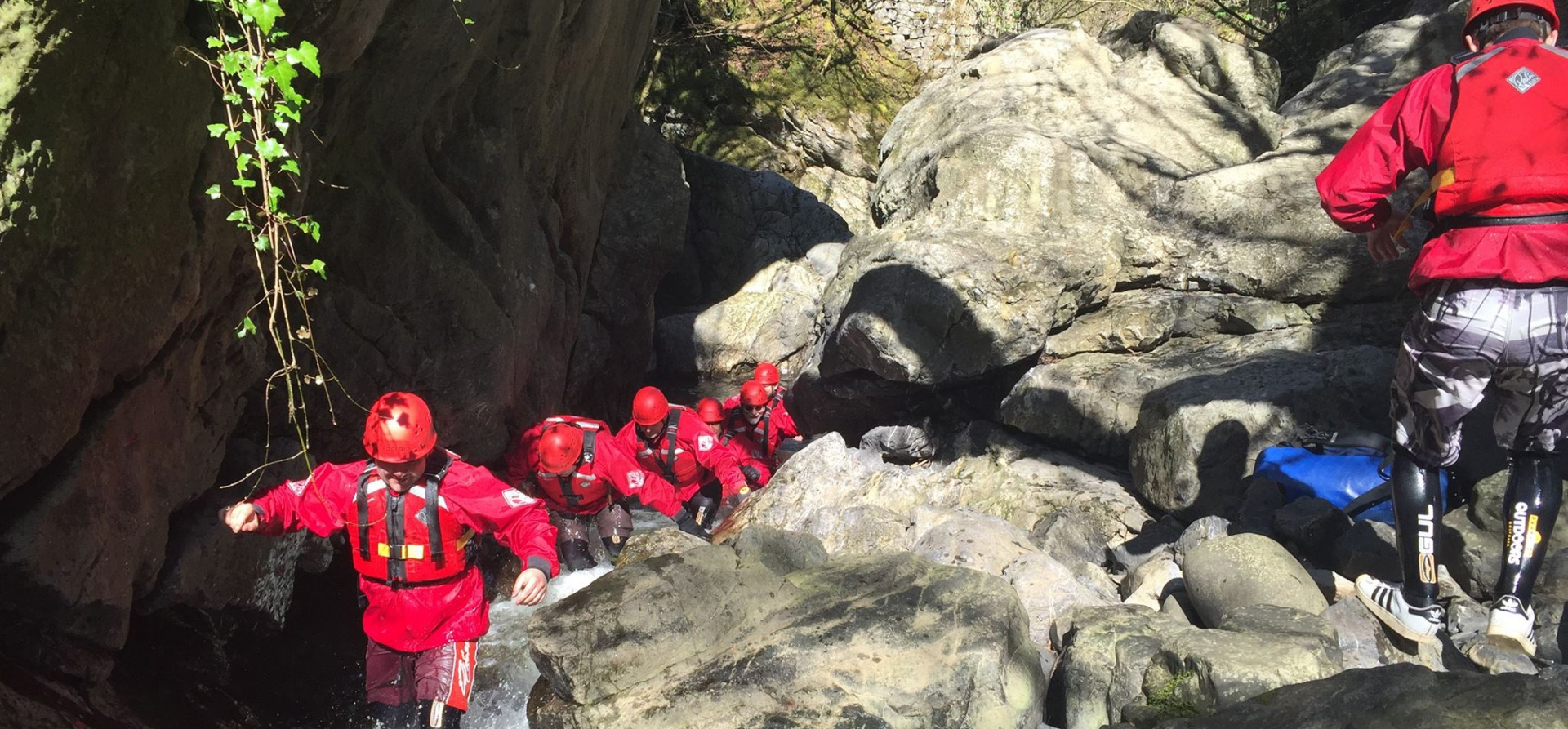 Gorge Walking Adventure for Two in Glamorgan - Full Day-5