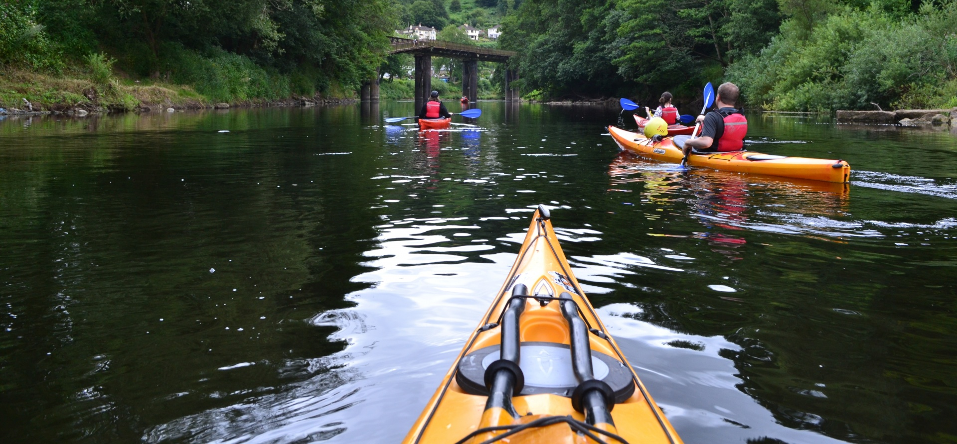 Full Day Kayaking Experience on the River Wye, Gloucestershire