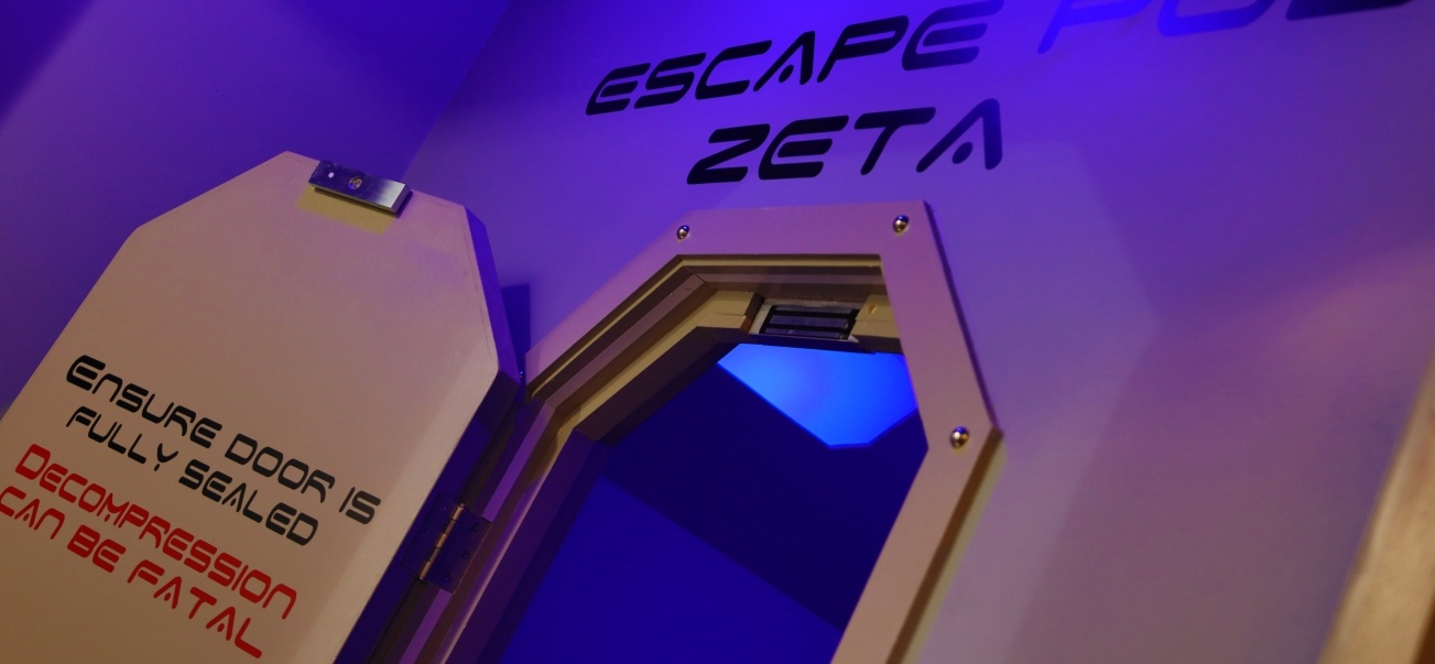 Spaceship Escape Room in Kegworth for 2-2