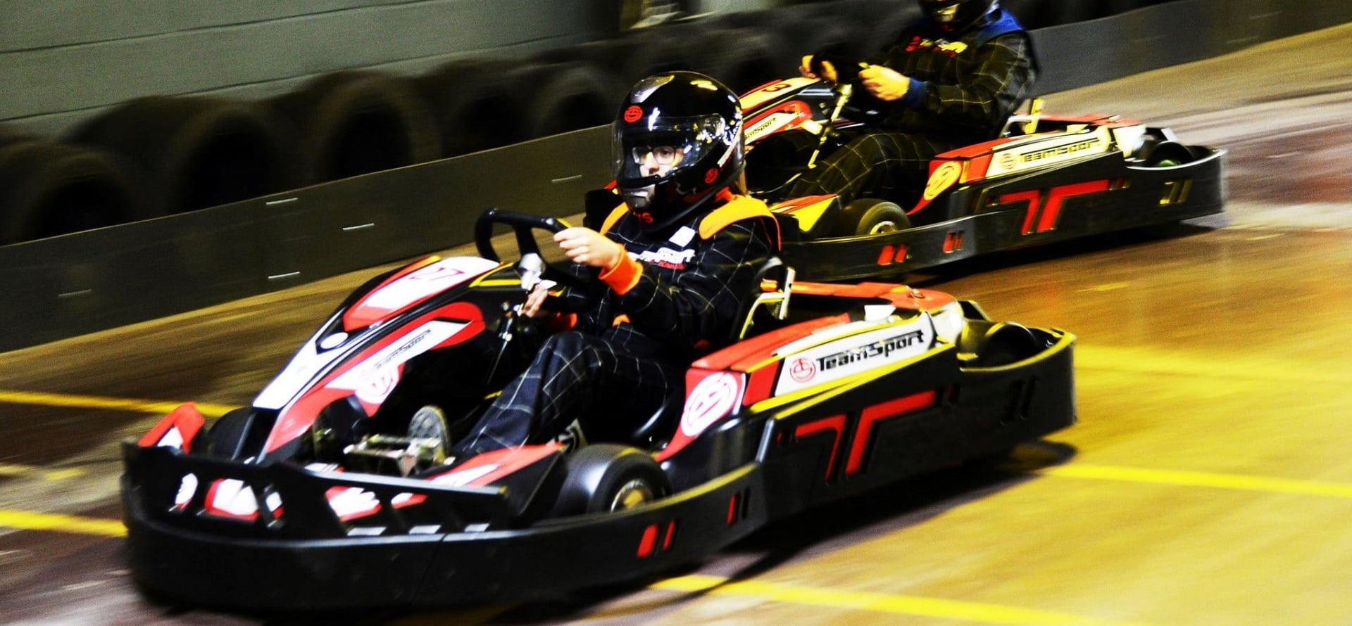 Family and Junior Indoor Go Kart Racing - Cardiff and Gosport-3