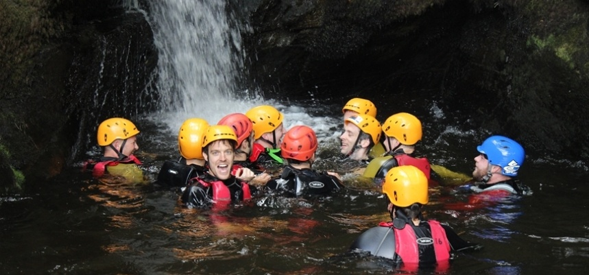 Gorge Walking Experience Day Llangollen-1