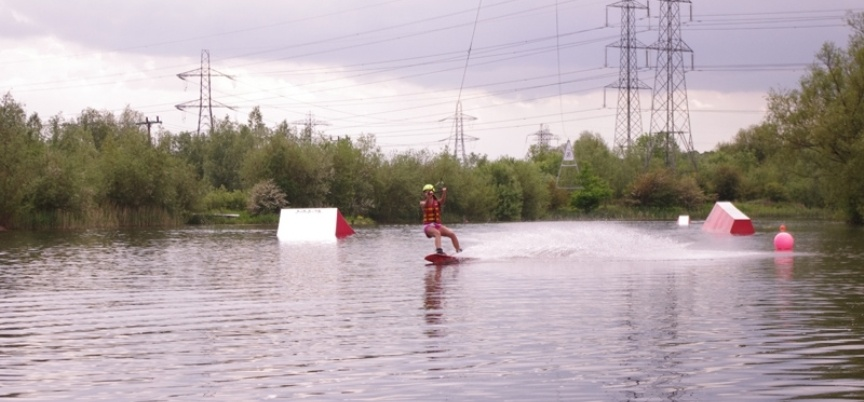 Wakeboarding Lesson Northamptonshire - 1 Hour-1