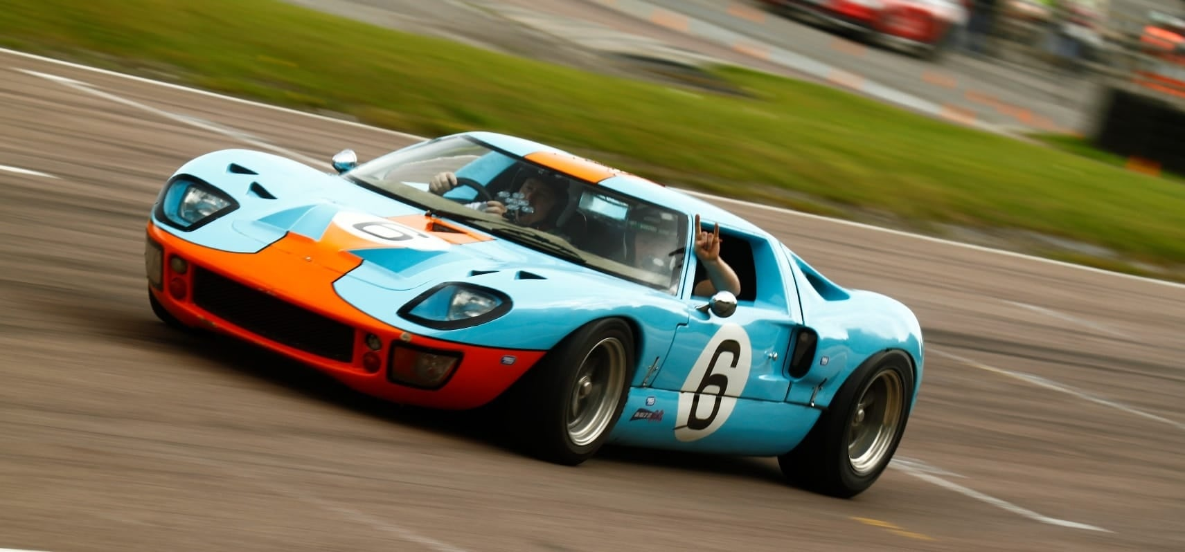 Ford GT40 6 Mile Driving Experience-4