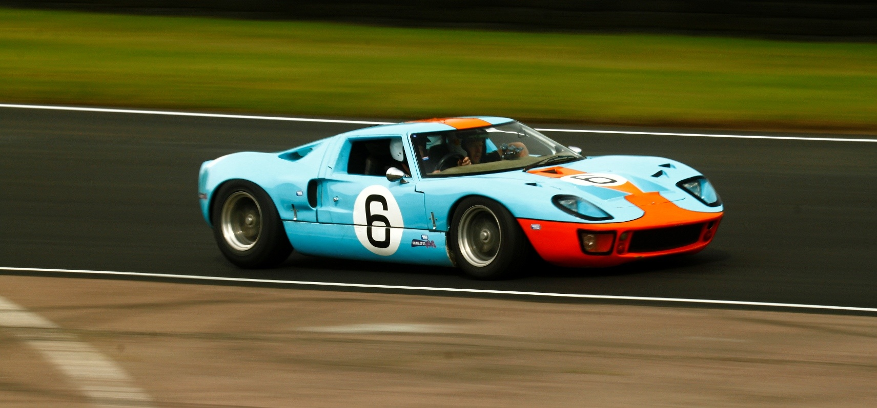 Ford GT40 6 Mile Driving Experience-6