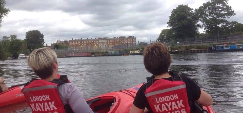 Thames River Kayaking - Hampton Court Palace-1