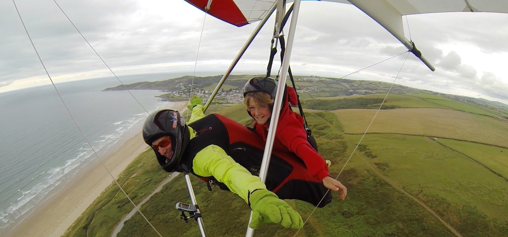 Hang Gliding Experience in Devon-3