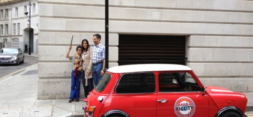 Harry Potter Film Locations Tour in a Mini Cooper-2