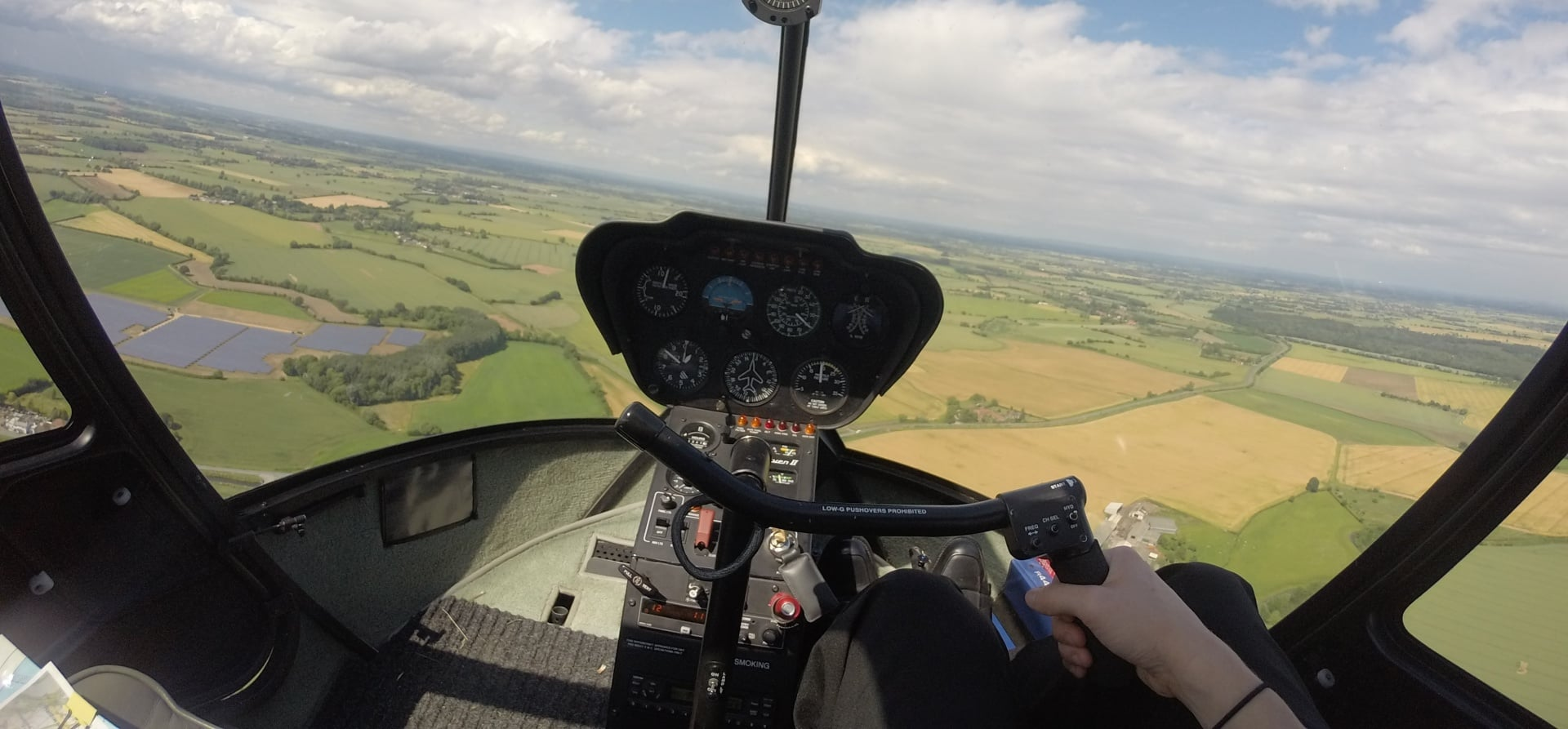 Taster Helicopter Flight In Yorkshire-2