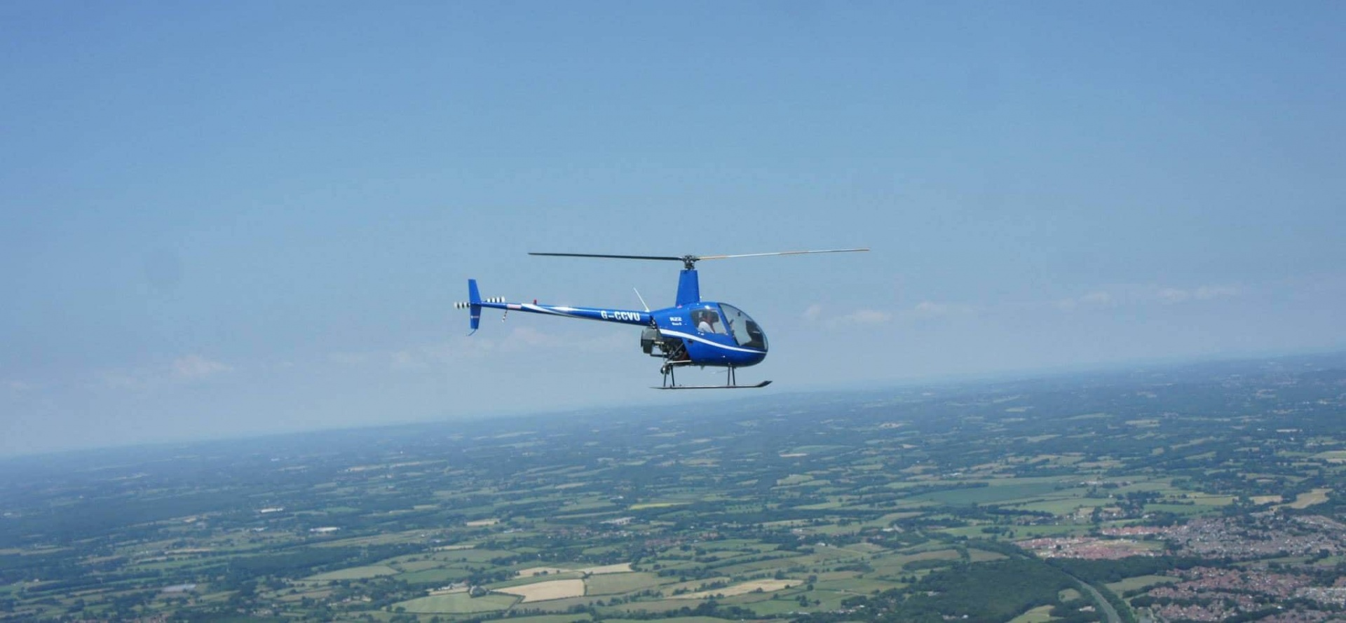 R22 Helicopter Lesson in Hampshire (30 Minute)-2