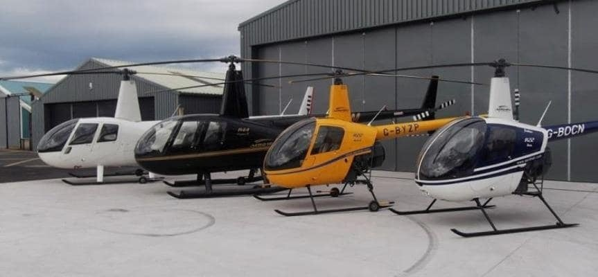 30 Minute Helicopter Lesson In A Robinson 22: Northern Ireland-2