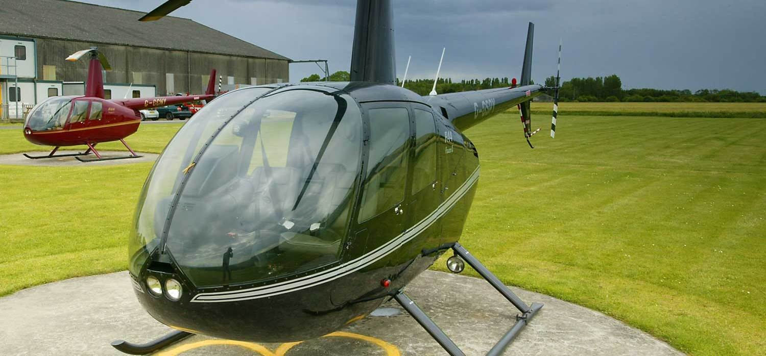 20 Minute R44 Helicopter Trial Flight In Yorkshire