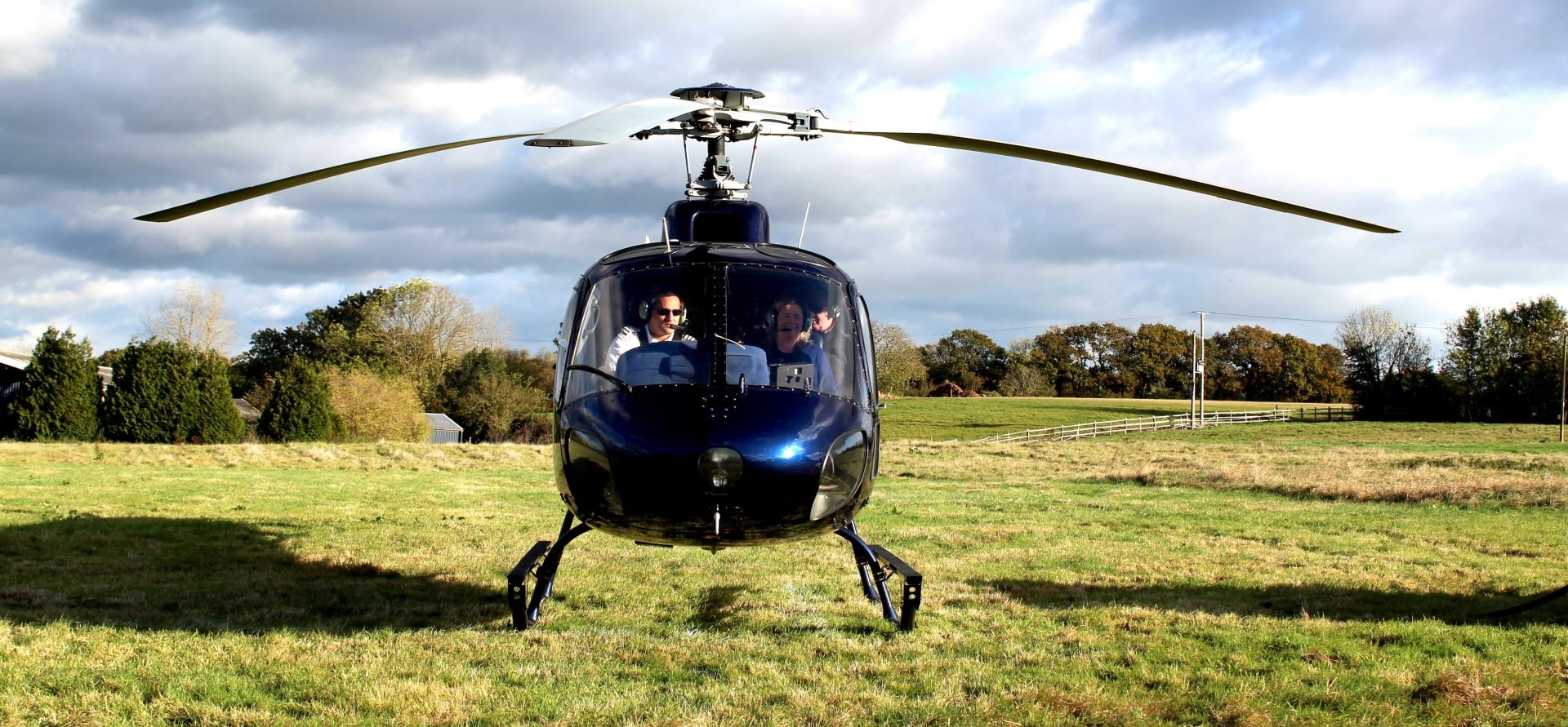 Gloucestershire Helicopter Buz Flight