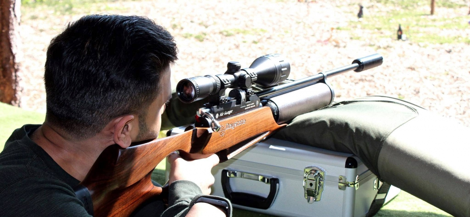 High Powered Air Rifle Shooting - Sussex-3