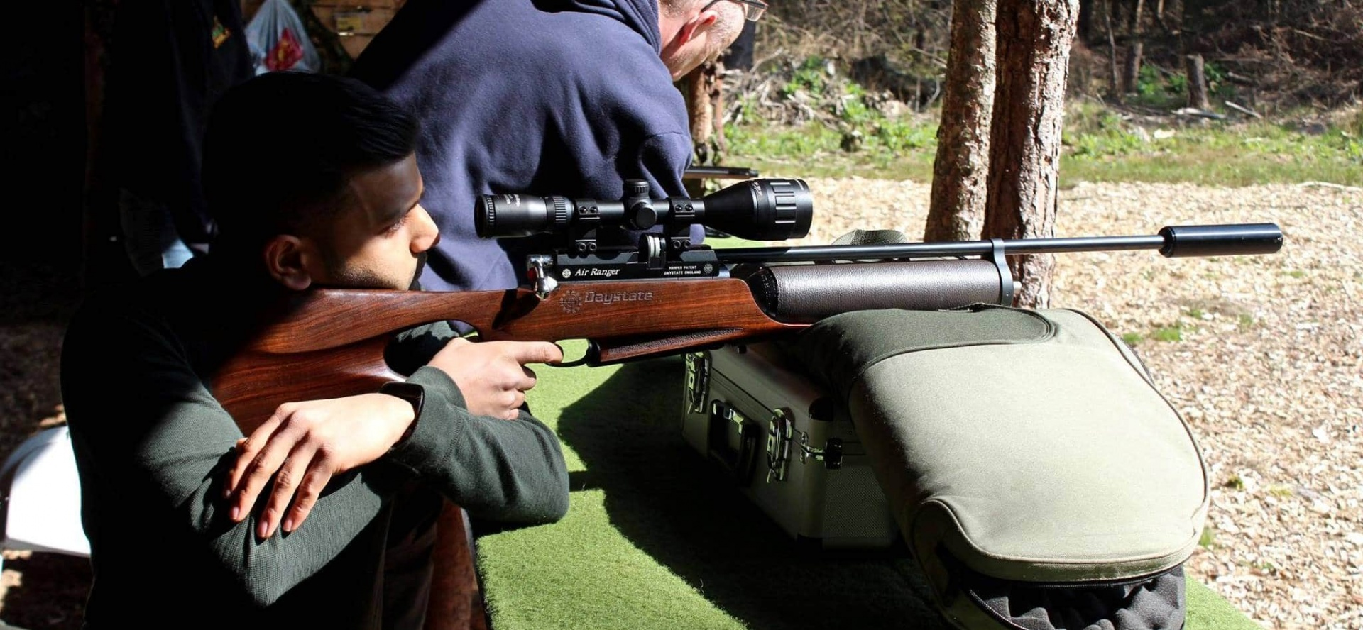 High Powered Air Rifle Shooting - Sussex-5