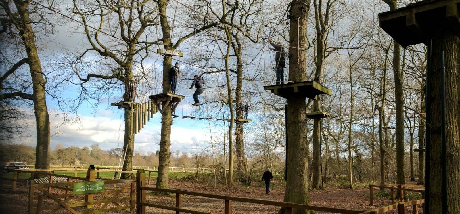 Child High Ropes Course - Nationwide-4