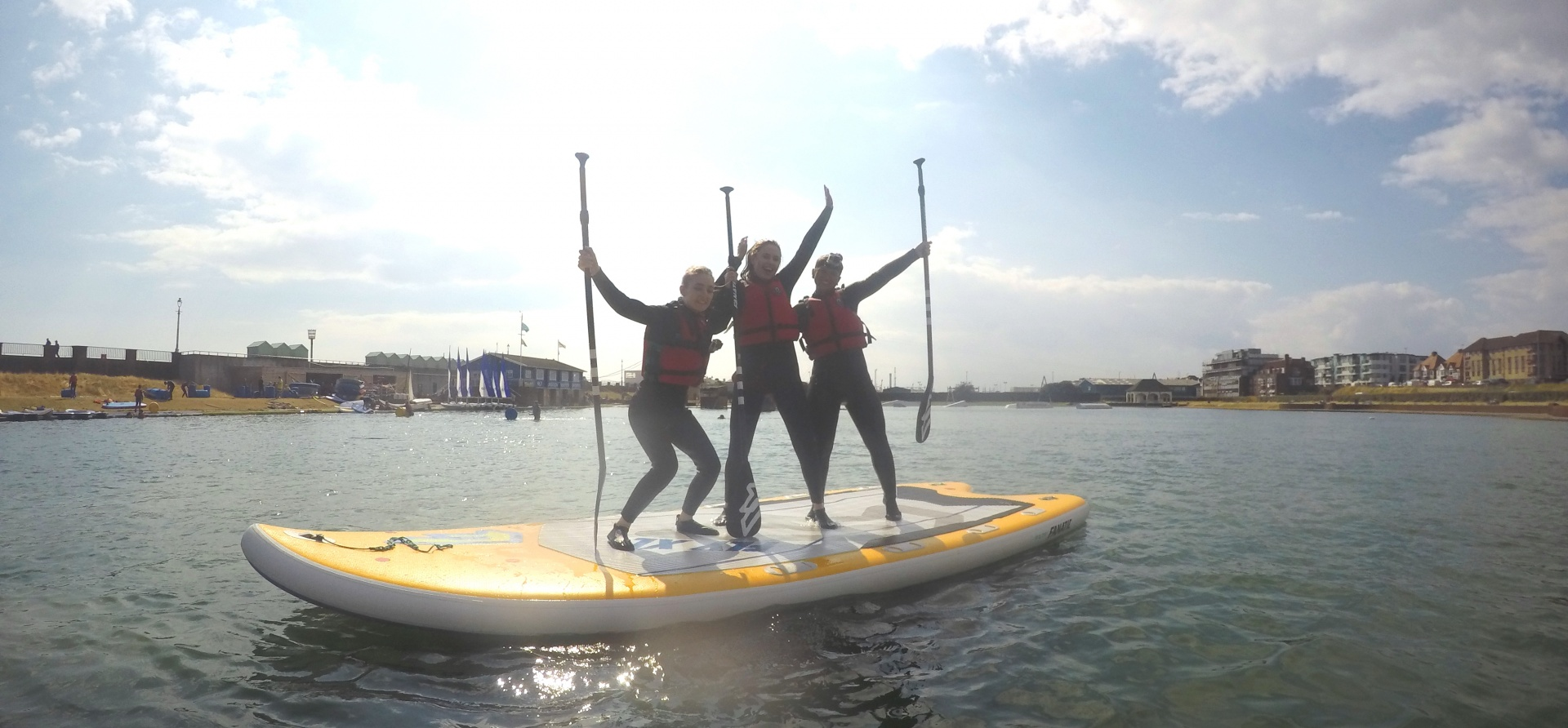 Introduction To Stand Up Paddle Boarding Brighton