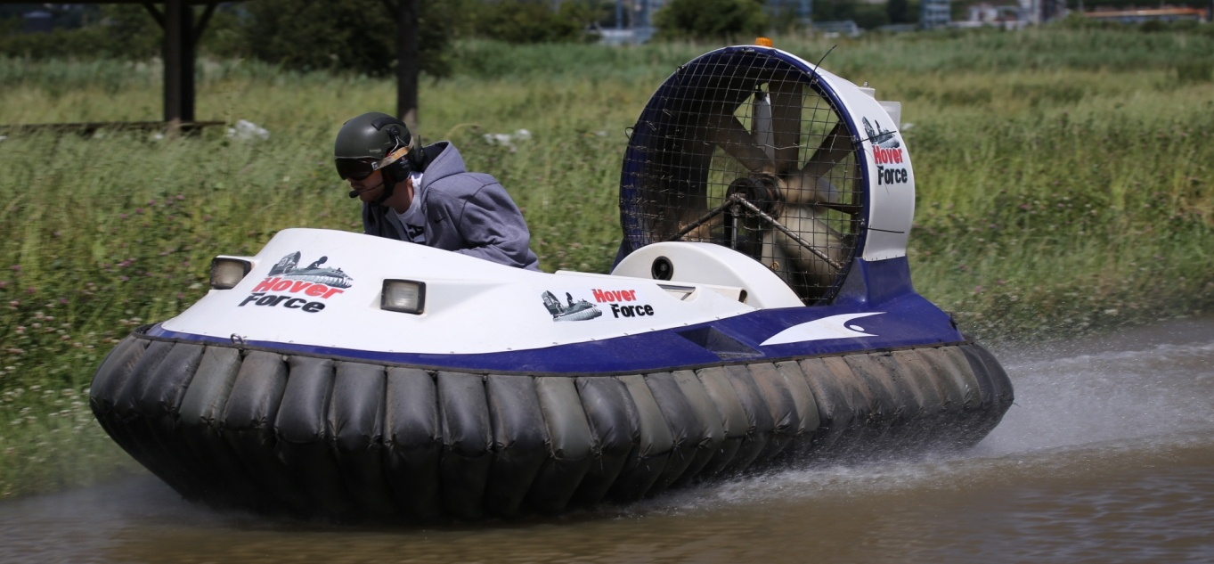 Hovercraft Taster Session Cheshire-2