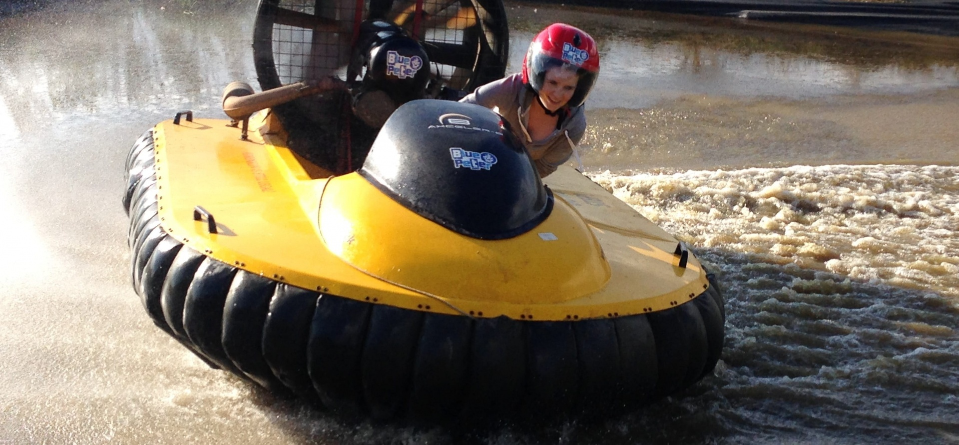 1 2 1 Hovercraft Training   Market Harborough