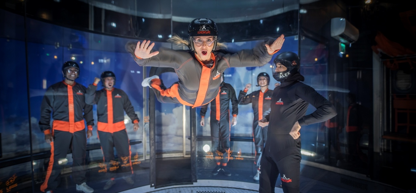 The Bear Grylls Ifly Experience With Challenge