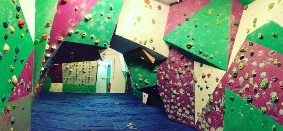 Introduction to Indoor Climbing - Wales-1