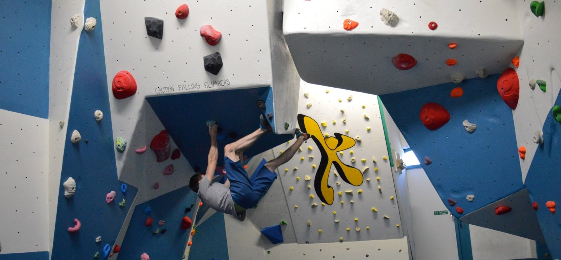 Introduction to Indoor Climbing - Wales-2