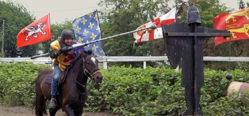 Medieval Jousting Experience Day in Warwick-4