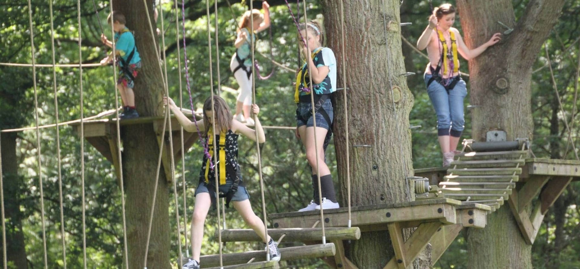 Child High Ropes Course - Nationwide-3