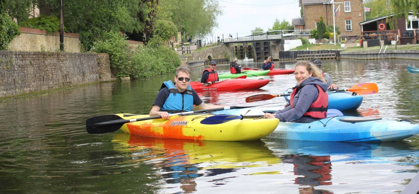 Kayaking Lesson In Hertfordshire