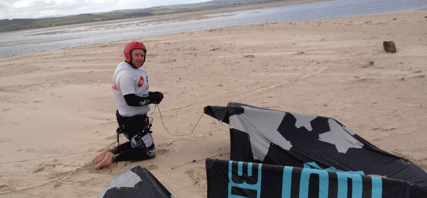 Cake Decorating Course Northumberland : On Land Introduction to Kitesurfing, Ideal for Beginners ...