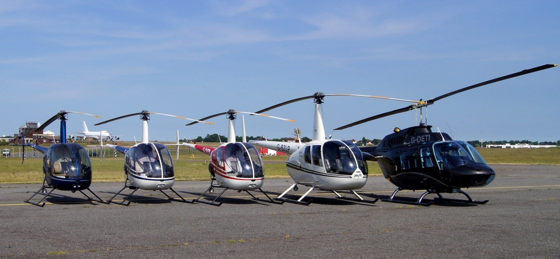 30 Minute B206 Helicopter Flying Lesson Kent-1