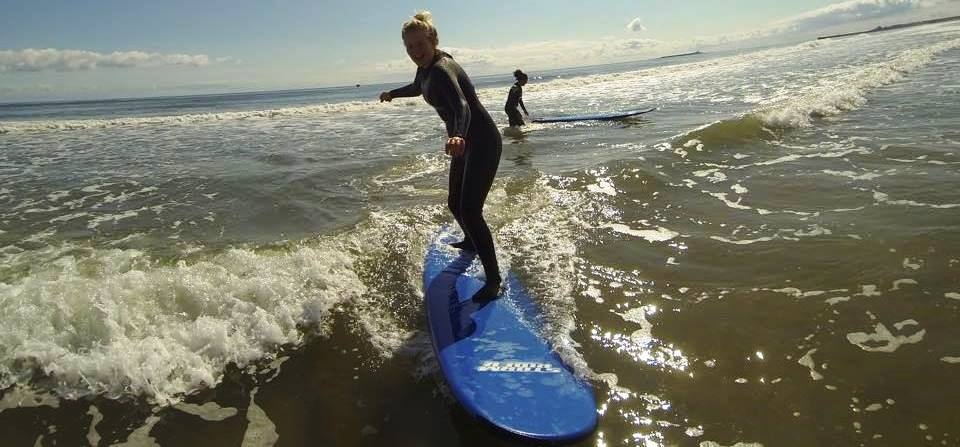 Surfing Lesson in Northumberland - 2 Hours-2
