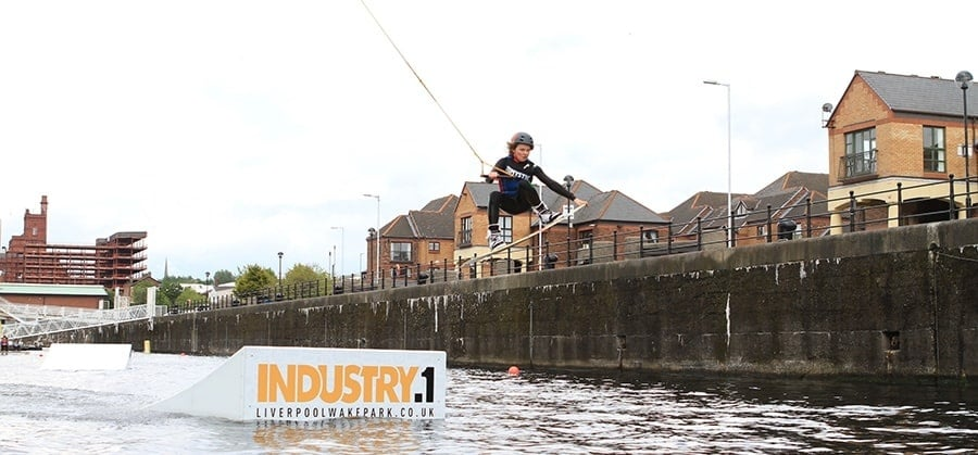 Cable Wakeboarding Experience in Liverpool Day Pass-4