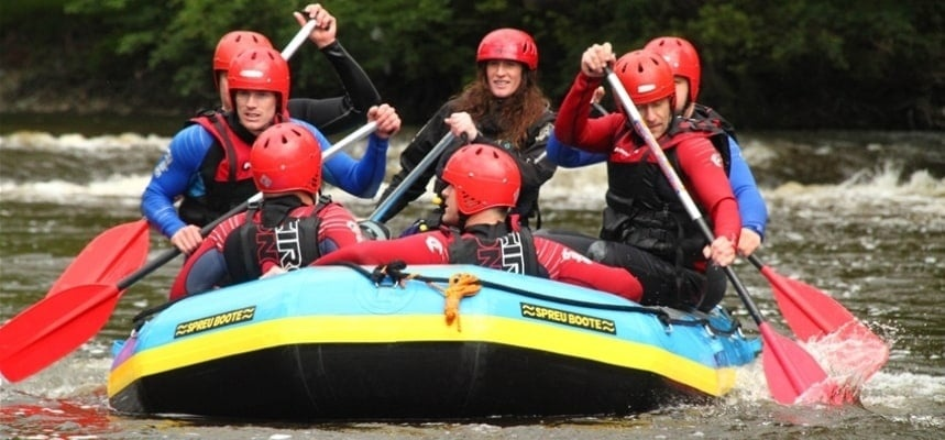 White Water Rafting Experience - Llangollen-5